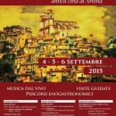 """Arriva la """"Festa di Montefortino"""" : 4-5-6 Settembre"""